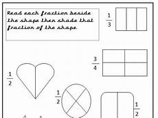 fraction worksheets year 2 free 4176 year 2 fractions of shapes 3 sheets teaching resources