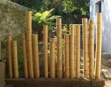 deco en bambou la palissade bambou japonaise confortable et pratique