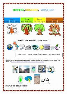 seasons worksheets printable 14749 month seasons weather weather and