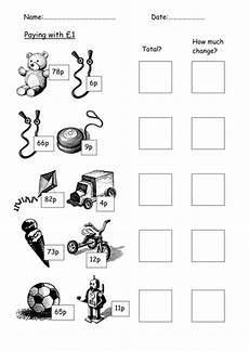 money worksheets ks2 giving change 2208 money worksheets change teaching resources