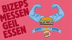 Bild Burger King 174 Bizeps Messen Geil Essen Burger