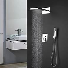 unterputz duscharmatur set unterputz duschsystem mit thermostat duscharmatur