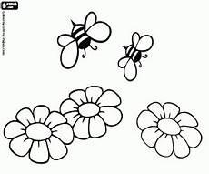 Ausmalbilder Blumen Und Bienen Ausmalbilder Bienen Und Blumen Honig Produktion Zum