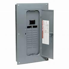 schneider electric homvp5 homeline 100 breaker panel load center kit ebay