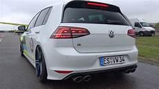 Vw Golf 7 R Tte525r Turbocharger Revs Drag Racing