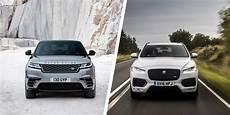 jaguar e pace vs land rover evoque range rover velar vs jaguar f pace suv comparison carwow