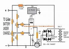 li ion battery charger circuit using ic 555 circuit