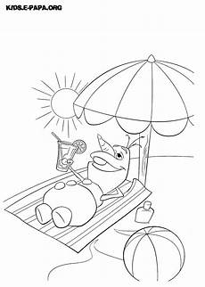Ausmalbilder Weihnachten Olaf Olaf In Summer Coloring Pages Coloring Pages