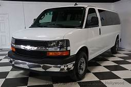 2017 Used Chevrolet Express Passenger RWD 3500 155 LT W