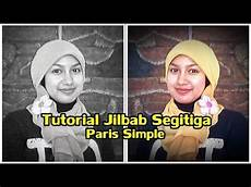 Tutorial Jilbab Segitiga Yang Simple