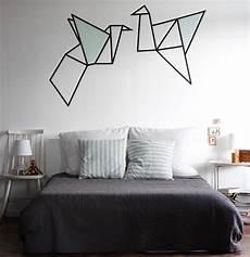 washi ideen wand wanddeko idee aus masking geometrische v 246 gel 252 berm