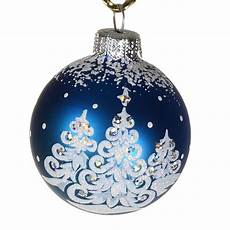 christmas ornaments world quot merry christmas quot glass christmas ball ornament matte blue