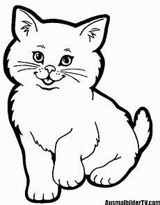 Malvorlage Katze Einfach K 228 Tzchen Ausmalbild Mit Bildern Ausmalbilder Katzen