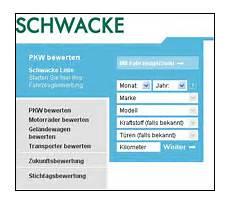 Schnelle Fahrzeugbewertung Mit Der Schwacke Liste Leben24