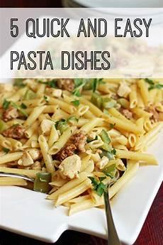 Schnelle Und Einfache Rezepte - 5 and easy pasta dishes cheap eats