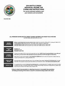 mi bc 1040 battle creek 2014 fill out tax template online us legal forms