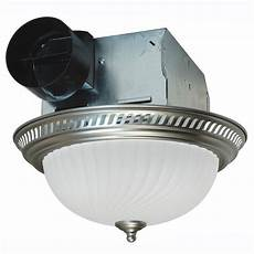 Bathroom Vent With Light air king decorative nickel 70 cfm ceiling exhaust fan with