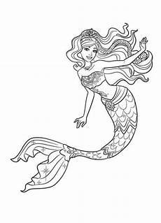 princess mermaid coloring page coloring pages mermaid
