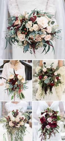 20 chic wedding bouquets ideas for winter brides wedding bouquets winter wedding flowers