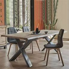 table de salle 224 manger moderne extensible en ch 234 ne massif