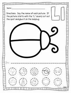 letter l worksheets cut and paste 23203 letter l activities and letter l word cards by adventures in esol