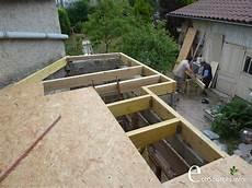 toit terrasse vegetal chantier auto construction toit terrasse toiture