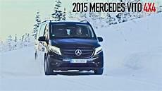 Mercedes Vito 4x4 2015 Test Drive On Snow