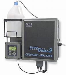 gli accuchlor 2 total chlorine analyzer 115 vac 60 hz from cole parmer