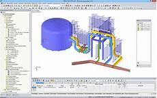 modellierung und bemessung rohrleitungen dlubal software