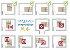 feng shui im schlafzimmer bett farben co einfache