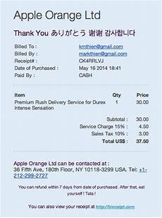 pin by binceipt on use binceipt to reduce paper receipt