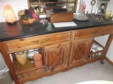 Kitchen Lowboy Buffet by Quot Antique Vintage Quot Century Brand Designer Slate Top