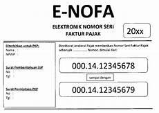 cara pakai e nofa buat dapatkan nomor seri faktur pajak