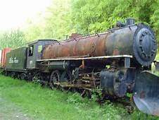 Abandoned Mikado Locomotive Somewhere In The Yukon