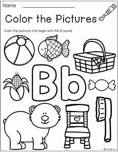phonics worksheets letter b 24452 free letter of the week b con im 225 genes alfabeto