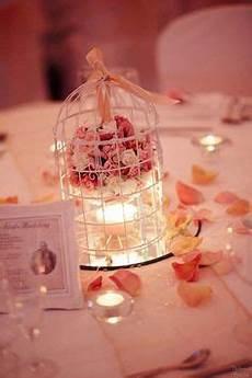 déco table mariage 26965 d 233 coration centre de table avec cage 224 oiseau blanche boule de fleurs lysianth centro de
