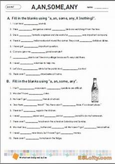 a an any some nothing worksheet grammar by eslcity tpt