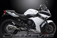 system mini 200mm stainless exhaust yamaha xj6