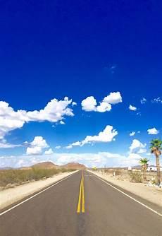 Gambar Horison Awan Langit Jalan Raya Aspal