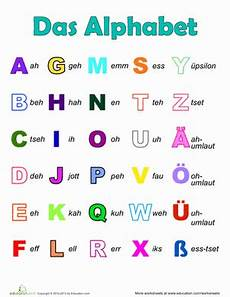 german phonics worksheets 19703 german alphabet worksheet education