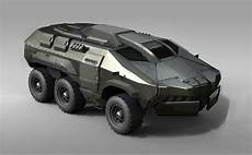 vehicle design 4 picture 2d futuristic military truck