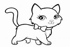 Gambar Mewarnai Kucing Kumpulan Gambar Mewarnai Update