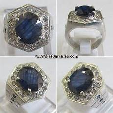 Blue Safir Ster cincin light blue safire ceylon srilanka jewelry