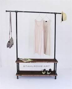 garderobe aus rohren loft garderobe industriedesign kleiderst 228 nder