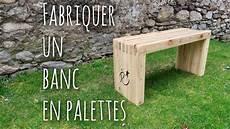 Fabriquer Un Banc En Palettes Diy Pallet Wood Slat Bench