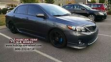 toyota corolla 2013 rims 2013 toyota corolla s with 17 215 7 msr 091 wheels