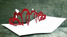 How To Make A Spiral Pop Up Card Card Pop Up