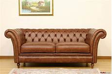 divani in pelle vintage divano chesterfield vintage originale in vera pelle