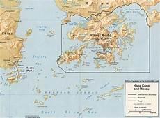 Map Hong Kong Country Map Hong Kong
