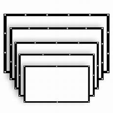 Inch Projector Screen Home Projection Manual 60 77 100 120 136 inch 16 9 projector screen home